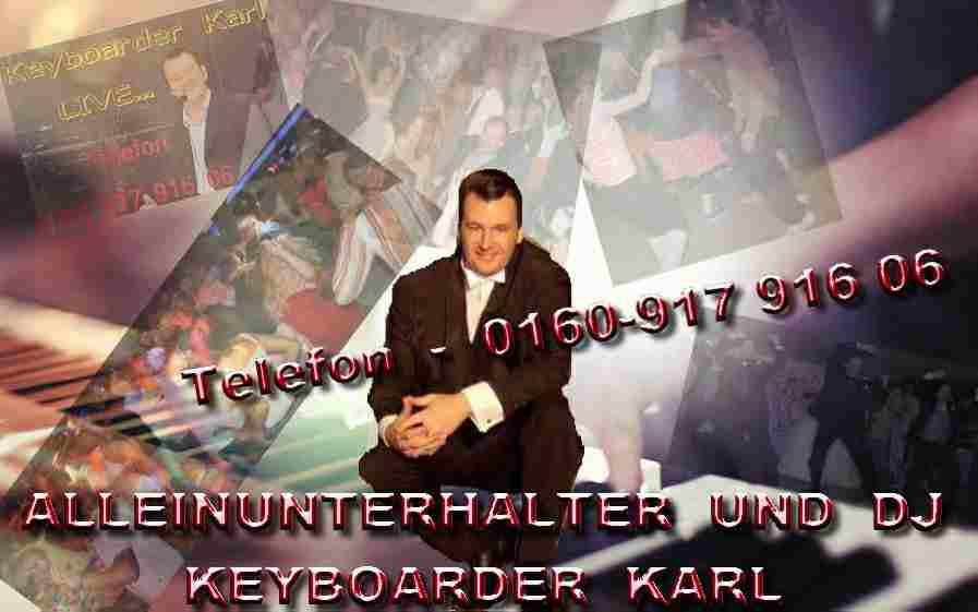 Musik und Entertainment mit Keyboarder Karl in Düren