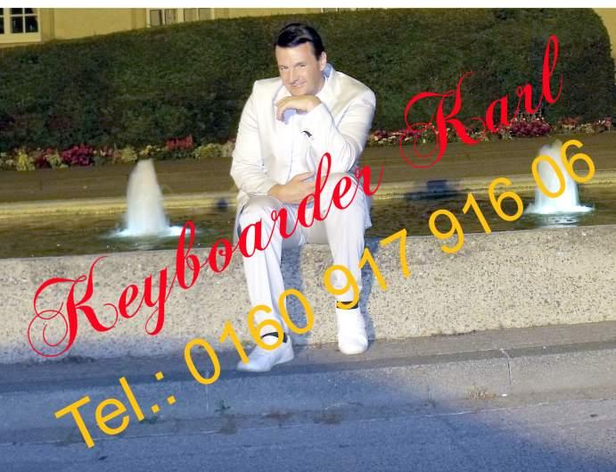 KEYBOARDER KARL AKTUELLES FOTO 07-2016 Alleinunterhalter NRW und Party Dj NRW