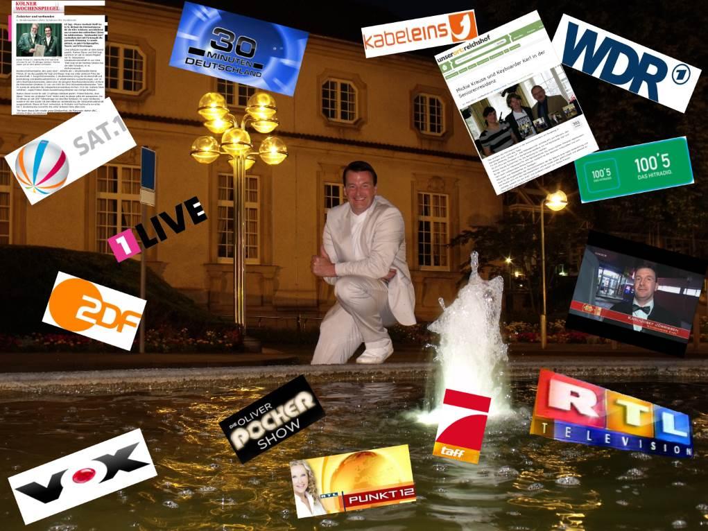 Referenzen und Bewertungen Alleinunterhalter NRW und Party Dj Nordrhein-Westfalen hier Referenzen von Keyboarder Karl
