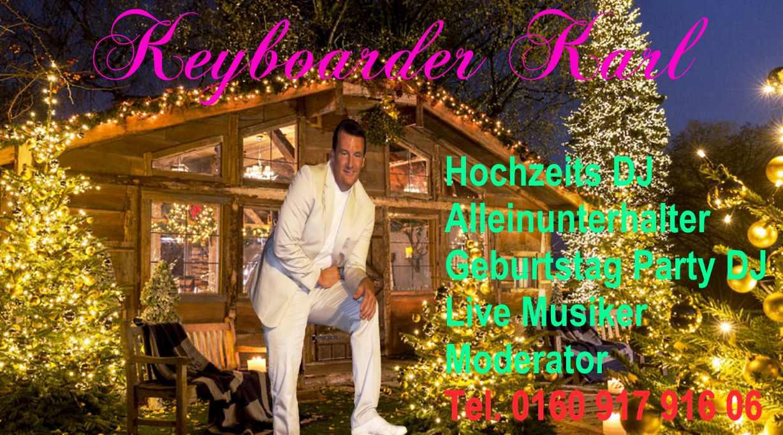 Alleinunterhalter Mönchengladbach - Party DJ Mönchengladbach - Ideal zur Hochzeit und Geburtstag Party sowie Schützenfest und Betriebs Feier
